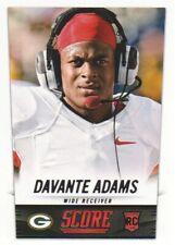 2014 Score Football #358 Davante Adams RC Green Bay Packers