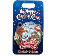 NEW DISNEY THE MUPPET'S CHRISTMAS CAROL LIMITED EDITION PIN