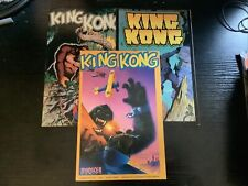 King Kong Comics Monscer Volume 1 And 4 And 6