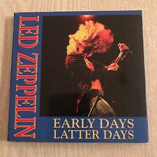 LED ZEPPELIN - Early Days Latter Days - original unofficial 4 CD live sets