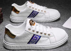 Versace original casual shoes for men and women