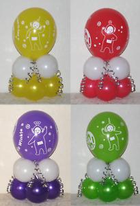 TELETUBBIES - 4 pack Balloon Table Display Kits  - NO HELIUM NEEDED - UK SELLER
