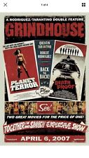 """Grindhouse Movie Theatre Poster Single Sheet Death Proof Planet Terror 14""""x21"""""""