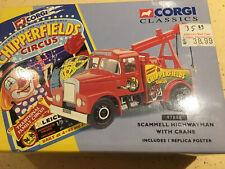 Corgi 1/50 Die Cast Chipperfields Scammell Highwayman Crane