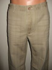 NEW DOCKERS D1 VINTAGE LOOK FLAT FRONT FASHION CHINO TROUSERS PANTS 31 WAIST 34L