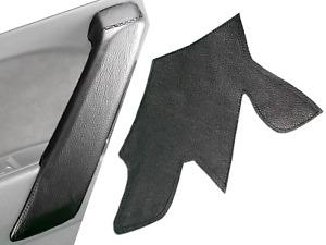Audi Q5 Interior Door Handle Cover - Black Leather Wrap Front/Rear Door Handle