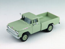 HO Scale Pickup Truck vehicle - 4x4 April Green