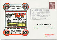 2453 1982 Sheffield United Division 4 Champions First Home Match Back in Divisio