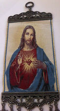 ORTHODOX CATHOLIC WALL TAPESTRY HANGING CHRIST JESUS CROSSES