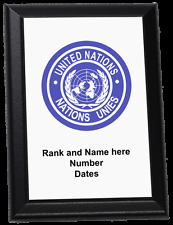 Personalised Wall Plaque - United Nations