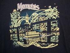 Vintage Memphis Tennessee Skyline City punk rock Tourist T Shirt Size XL