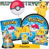 Pokemon Gamme de Fête D'Anniversaire - Vaisselle Ballons & Décorations {Amscan}