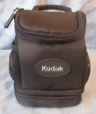 "Black Kodak Camera bag 6""x5"" with handle or belt clip"