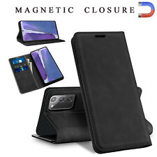 For Samsung Galaxy Note20/20 Ultra 5G Leather Wallet Case Stand Card Phone Cover