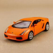 2005 Model Lamborghini Gallardo Orange 1:32 12cm Die Cast Pull Back Detail Open