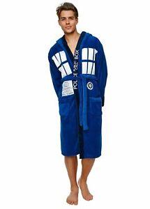 Doctor Who Tardis Adult Fleece Bathrobe