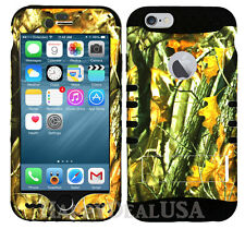 For Apple iPhone 7 & 7 Plus KoolKase Hybrid Silicone Cover Case - Camo Mossy 08