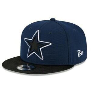 NEW ERA CAP. DALLAS COWBOYS NFL 9FIFTY SNAPBACK HAT M/L