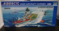 Trumpeter USSR Aircraft Carrier Minsk W/Motor Model Warship Open Complete L-1474