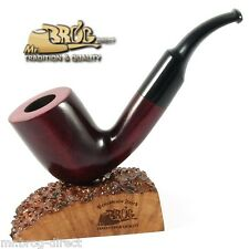 "OUTSTANDING  Mr.Brog original smoking pipe nr.37 red smooth classic "" VIKING """