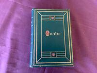 Oxford Edtion The Poetical Works of John Milton 1912 Binding Prize Presentation