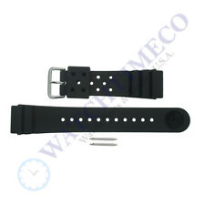 Genuine Seiko 4F24ZZ 22mm Divers Watch Strap + Pins for SKX173 SKX007 SKX009