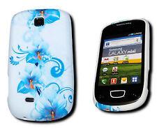 Design no. 3 Silicone TPU per cellulare Cover Case Guscio Per Samsung s5570 Galaxy MINI