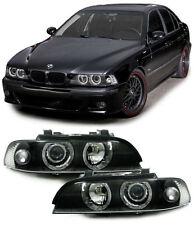 H7 H7 Scheinwerfer Angel Eyes schwarz für BMW 5er E39 95-00