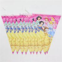 Disney Princess Girl Banner Bunting Flag Happy Birthday 2.5 Meter Snow White