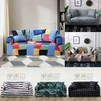 Universal Elastic Stretch Sofa Protector Cover Soft Slipcover Couch Cover 1/2/3
