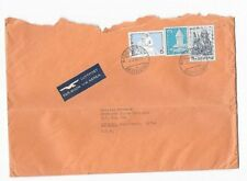 1965 Cover 3 Color Franking Zurich to Ontario California Posted Air Mail Sunkist