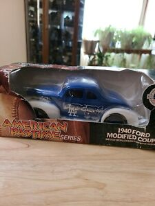 1940 Ford Modified Coupe-American Pastime Series-Dodgers # 98-Coin Bank-NIB