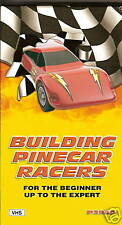 BUILDING PINECAR RACERS FROM BEGINNER TO EXPERT - (VHS) FREE SHIPPING!