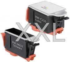 2x XXL PATRONEN INK-M210 M215 C210 für Samsung CJX-1000 CJX-1050W CJX-2000FW Set