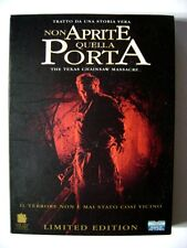 Dvd Non aprite quella porta - Limited edition digipack 2 dischi Usato
