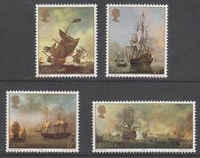 1974 Trikot Artists 2. Serie Marine Gemälde SG417-421 Komplettes Set PORTOFREI