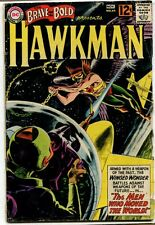 Brave and the Bold Hawkman #44 - Earth's Impossible Day! - 1962 (4.0) WH
