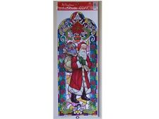 CHRISTMAS WINDOW DECORATION STATIC CLING STICKER