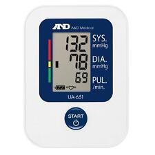A&D Medical UA651 High Quality Digital Upper Arm Blood Pressure Monitor - New