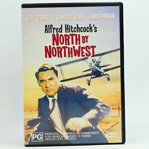 North By Northwest Alfred Hitchcock James Mason Cary Grant DVD GC