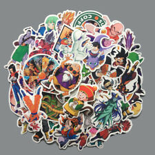 100Pcs/Lot Anime Dragon Ball Z Super Saiyan Goku Stickers Decal For Laptop Phone