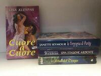 Lotto romanzi Rosa, 4 romanzi in ottime condizioni