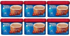6 Maxwell House HAZELNUT CAFE Coffee Creamer Drink Mix Beverage Mix