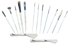 Bob Ross Oil Floral and Wildlife Painting Brushes Knife - Full Range Available