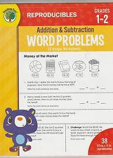 Teaching Tree Grades 1-2 Addition & Subtraction Word Problems Math new worksheet