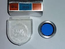 B + W Azul filtro kb12 25mm