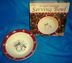 Royal+Seasons+Holiday+Snowman+Stoneware+10+Inch+Serving+Bowl