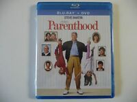 Parenthood (Blu-ray/DVD, 2012, 2-Disc Set) (NEW) Steve Martin