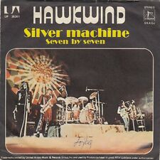 "HAWKWIND SILVER MACHINE / SEVEN BY SEVEN RARE MISPRINT RECORD YUGOSLAVIA 7"" PS"
