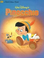 Walt Disney's Pinocchio A Little Golden Book